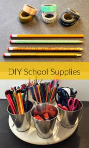 Thrifty NW mom DIY school supplies