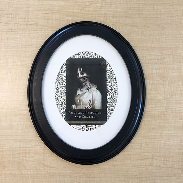 framed ghoul book cover